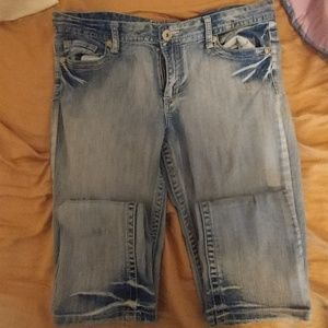 Rue21 mid-rise skinny jeans